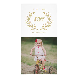 Holiday Laurels Card