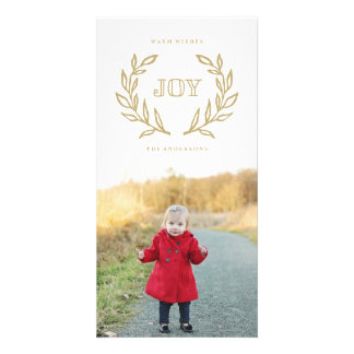 Holiday Laurels Collection Card