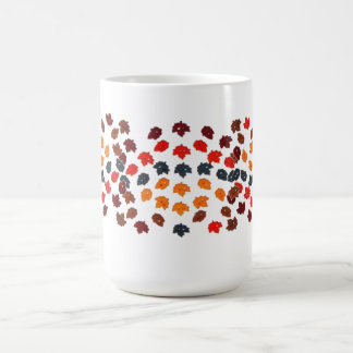 Holiday Leaves Coffee Mug