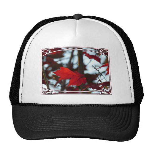 Holiday Leaves Trucker Hat