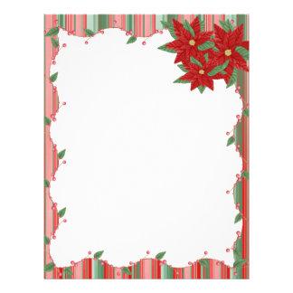 Christmas Stationary Letterhead | Zazzle