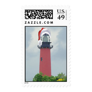 Holiday Lighthouse Stamps