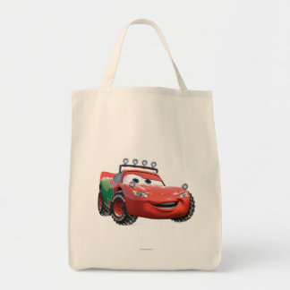 Holiday Lightning McQueen Tote Bag
