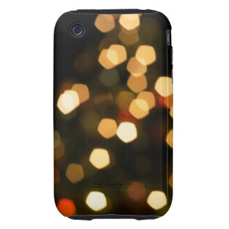 Holiday Lights Bokeh Case-Mate Case Tough iPhone 3 Case