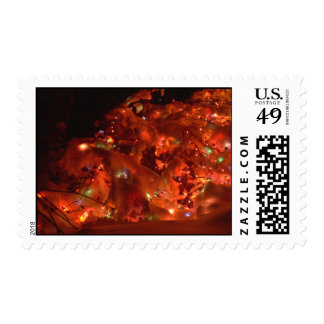 Holiday Lights in the Snow Stamp
