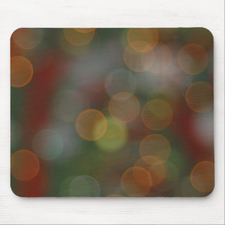 Holiday Lights Mouse Pad