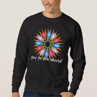Holiday Lights Multicolored Circle Sweatshirt