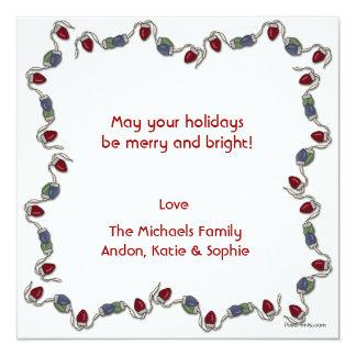 Holiday Lights Photo Card