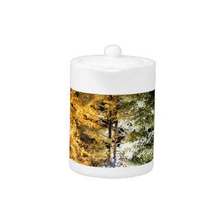 Holiday Lights Teapot