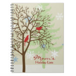 Holiday List Book Note Book