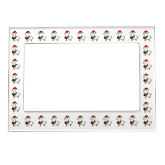 Holiday Llama Elf Magnetic Frame