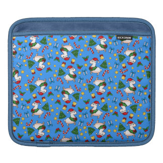 Holiday Llama Madness iPad Sleeve