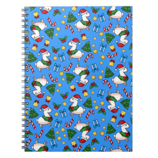Holiday Llama Madness Notebook