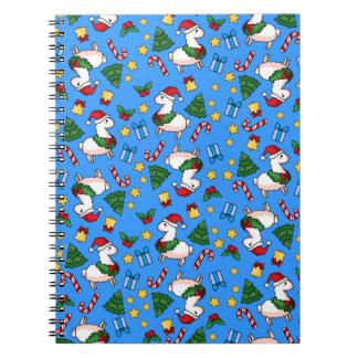 Holiday Llama Madness Note Book