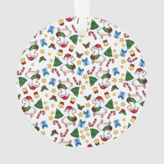 Holiday Llama Madness Ornament
