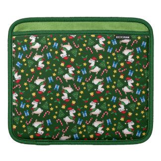 Holiday Llama Madness Sleeve For iPads