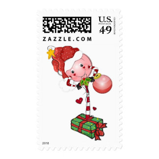 Holiday Lolly Stamp