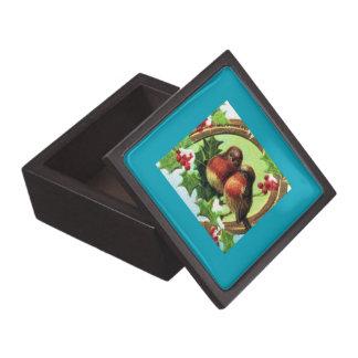 Holiday Love Birds Jewelry Box