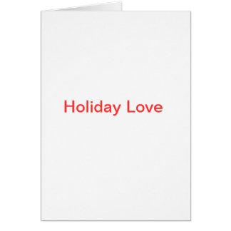 Holiday Love Card