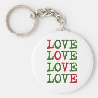 Holiday Love Keychain