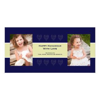 Holiday Love Photo Card Navy