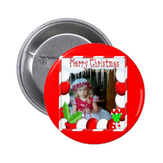 HOLIDAY LOVE PINBACK BUTTON