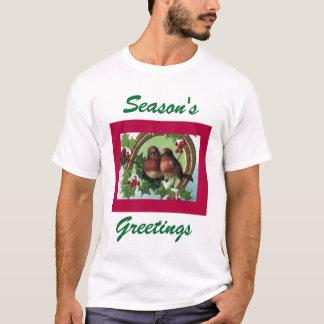Holiday Lovebirds t-shirt