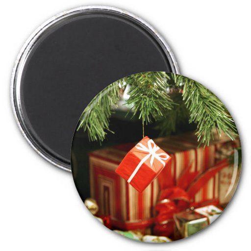 Holiday Magic 2 Inch Round Magnet