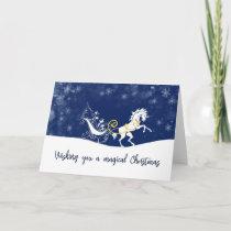 HOLIDAY MAGIC 5x7 Greeting Card