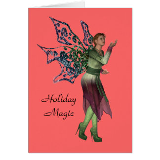 Holiday Magic Christmas Card