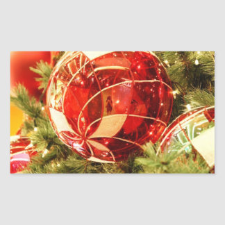 Holiday Magic Rectangular Sticker