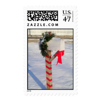 Holiday Mailbox Postage