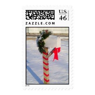 Holiday Mailbox Postage