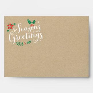 Holiday Mailing Envelopes | Season's Greetings