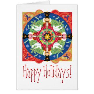 Holiday mandal zazzle, Happy Holidays! Greeting Card