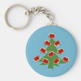 Holiday Meat Tree Keychains