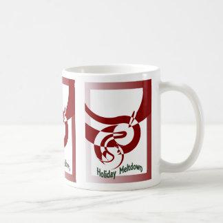 holiday melt-down, holiday melt-down, holiday m... classic white coffee mug