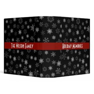 Holiday Memories binder