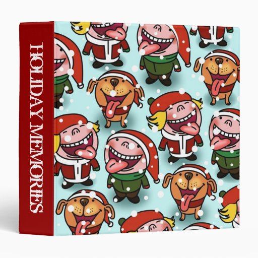 Holiday Memories Scrapbook Binder