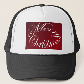 Holiday Merry Christmas Matching Red Items Trucker Hat