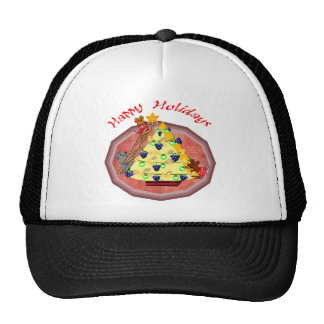 Holiday Mice Gifts Trucker Hat