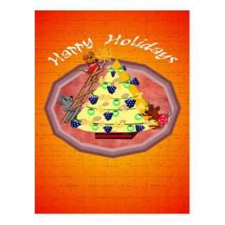 Holiday Mice Greeting Cards Postcard