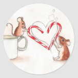 Holiday Mice Stickers
