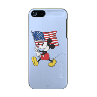 Holiday Mickey | Flag Metallic Phone Case For iPhone SE/5/5s