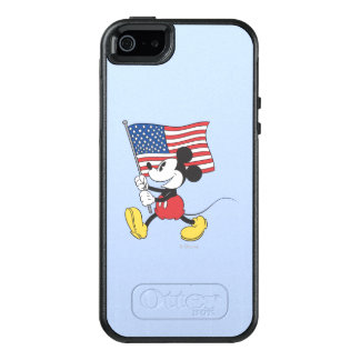 Holiday Mickey | Flag OtterBox iPhone 5/5s/SE Case