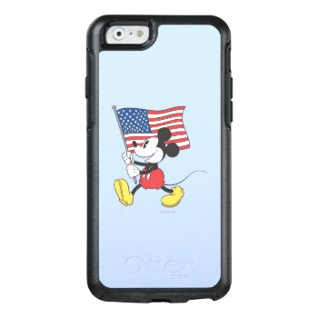 Holiday Mickey | Flag Otterbox Iphone 6/6s Case by disney at Zazzle