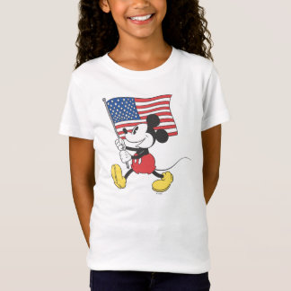 Holiday Mickey | Flag T-Shirt