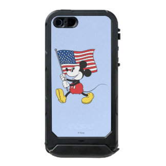 Holiday Mickey | Flag Waterproof iPhone SE/5/5s Case