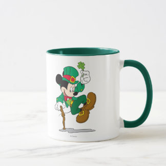 Holiday Mickey   Leprechaun Mug