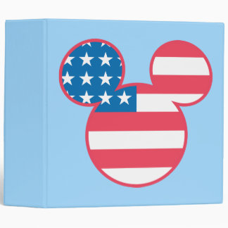 Holiday Mickey | Mouse Head Flag Icon Binder